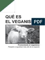 Que Es Veganismo