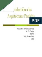 Introduccion a Las Arquitecturas Paralelas