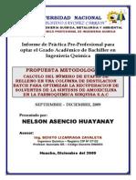 Informe Bachiller, Sintesis Organica de Antibioticos -Nelson Asencio Huayanay