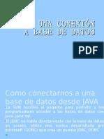 CREAR UNA CONEXIÓN A BASE DE DATOS
