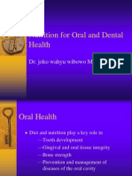 nutrition of Oral and Dental Health