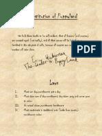 Constitution of Puppyland