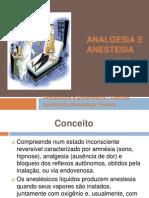 Ppt Em Anestesia e Analgesia