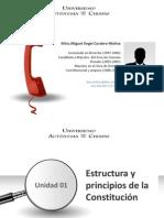 Unidad 1. Estructura y Principios de la Constitución