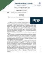 Ley 5_2014, De 4 de Abril, De Seguridad Privada.