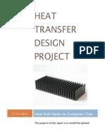 heat transfer design project report