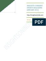 Insights IAS January Magazine 2014