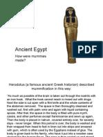 egyt mummification slideshow ks2