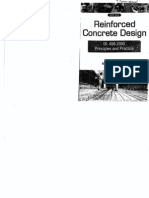 Reinforced Concrete Design Principles and Practice