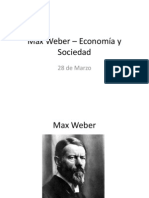 PPT Economía y Sociedad Max Weber
