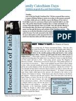 Household of Faith - Session 1 Newsletter