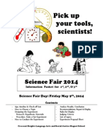 science fair packet 2014