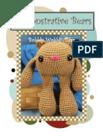 Amigurumi Demonstrative Bear Free Pattern