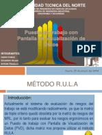 Exposición Método RULA