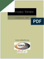 Prontuario Técnico 2014. Construcción