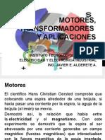 Unidad 2 Motores, Transformadores y Aplicaciones