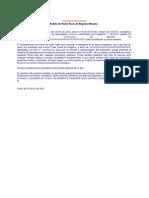 Modelo Poder Fuera Registro Notario Peruano