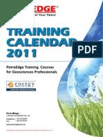 GeoTraining Calendar