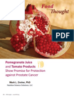Pomegranate Juice and Tomato Products