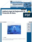 Auditoria Legal Del Reglamento de Proteccion de Datos