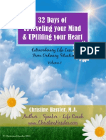 32 Days of Upleveling Your Mind and Uplifting Your Heart