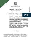 Art. 1º Suprimam-se, no art. 19, os §§ 3º e 4º, do PLC 21, de 2014