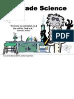 modif 8th grade science staar flipbook