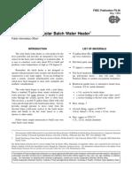 Solar Batch Water HeaterSolar Batch Water Heater