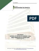 Diplomado Sistemas de Gestion Integrados Hseq Para Formacion de Auditor Lider