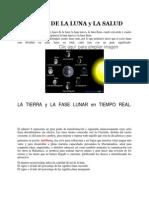 Las Fases de La Luna y La Salud
