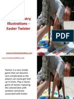 Youth Ministry Illustrations - Easter Twister