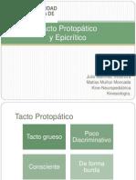 Tacto Protopático y Epicrítico KNP