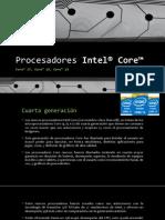 Procesadores Intel® Core™