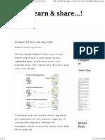 Konfigurasi FTP Server Pada Linux CentOS