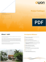 2013 OWON Product Catalogue v4.0.1
