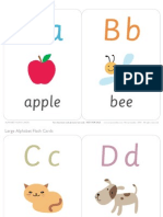 flashcard abc Capital letter