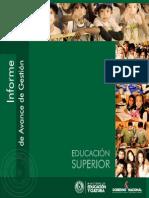 5. informe - EDUCACIÓN SUPERIOR