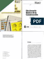 Diccionario Basico de La Construccion