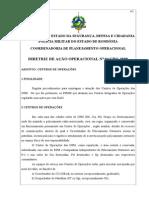 DIRETRIZ DE AÇÃO OPERACIONAL Nº04CPO-2008