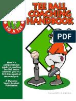 Tee Ball Coaches Handbook