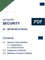 NS - 03 Network Attacks