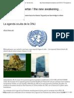 La Agenda Oculta de La ONU | El Nuevo Despertar