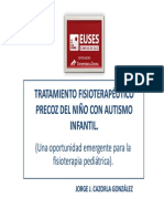 FISIOTERAPIA Autismo