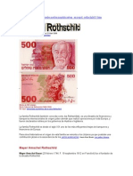 El Imperio Financiero Global de La Casa Rothschild