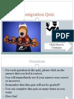 immigration quiz r