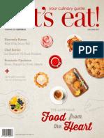 Vol - 55 Let's eat! Magazine