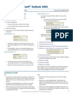 Outlook 2003 Setup