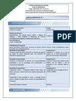 F004-P006 GFPI GUÍA DE APRENDIZAJE BASES DE DATOS