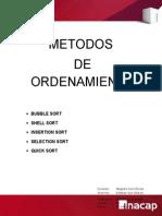 Metodos de Orden