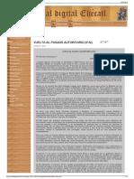 VUELTA AL PASADO AUTORITARIO (IFAI) - Portal digital Ehécatl